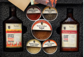 Bourbon Barrel Artisan Crafted Condiments and Sauces, USA