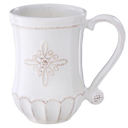 jardins du monde whitewash mug. Black Bedroom Furniture Sets. Home Design Ideas
