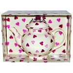 Hearts 4 Cup Teapot BOXED