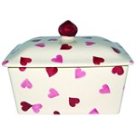 Hearts Butter Dish