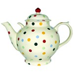Polka Dot Gallon Teapot