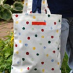 Polka Dot Magazine Bag