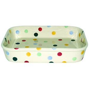 Polka Dot Medium Rectangular Baking Dish