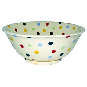 Polka Dot Salad Bowl