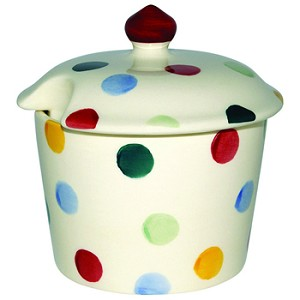 Polka Dot Sugar Pot