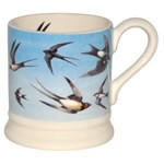 Flying Swallow 1/2 Pint Mug
