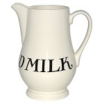 Black Toast & Marmalade Milk Jug