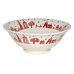 Christmas Town Serving Bowl