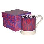 I Love Chocolate 1/2 Pint Mug Boxed