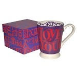 I Love Chocolate Cocoa Mug Boxed