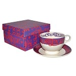 I Love Chocolate Breakfast Cup and Saucer Boxed