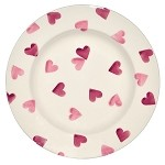 Pink Hearts Side Plate