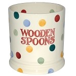 "Polka Dot ""Wooden Spoons"" Jar"