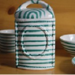 Vertigo Flame Green Classic Storage Jar