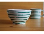 Vertigo Flame Green Coupe Cereal Bowl 5.5