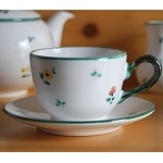 Scattered Blooms Classic Coffee Cup  and  Saucer
