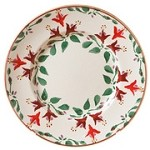 Fuchsia Lunch Plate