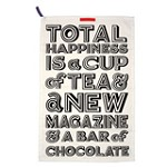 Happiness Tea Towel