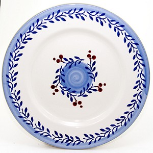 Blue Vine Serving Plate