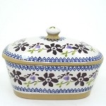 Clematis Butter Dish