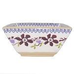 Clematis Medium Square Bowl