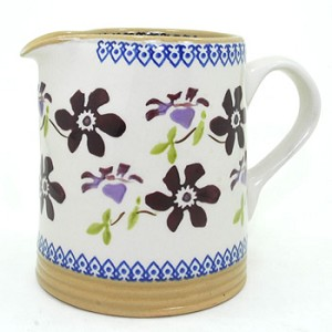 Clematis Small Cylinder Jug