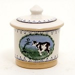 Cow Lidded Sugar Dish