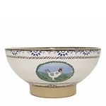 Landscape Mixed Animal Large Bowl