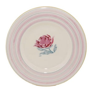 Pink Peony Side Plate