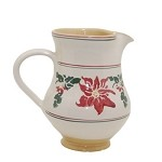 Poinsettia Medium Jug RETIRED
