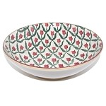 Red Tulip Fruit Bowl