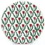 Red Tulip Side Plate RETIRED