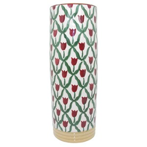 Red Tulip Stem Vase 5