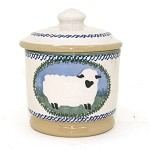 Sheep Lidded Sugar Pot