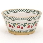Strawberry Small Angled Bowl