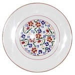 Wild Flower Meadow Lunch Plate