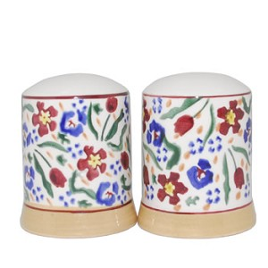 Wild Flower Meadow Salt & Pepper Shakers