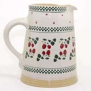 Strawberry Medium Cylinder Jug