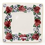 Kilfane Rose Small Square Plate