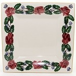 Kilfane Rose Medium Square Plate