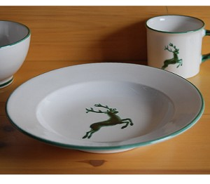 Stag Gourmet Soup Plate 9.5''