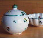 Scattered Blooms Classic Sugar Pot