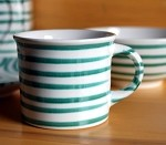Vertigo Flame Green Classic Coffee Mug