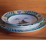 Hunt Baroque Soup Plate
