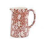 Red Calico 1/2 Pint Tankard Jug