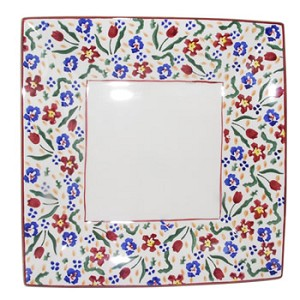 Wild Flower Meadow Medium Square Plate