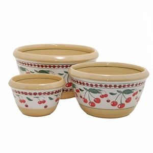 Cherry Kitchen Bowl Set of Three RETIRED