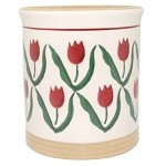 Red Tulip Small Utensil Drainer
