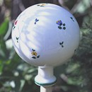 Scattered Blooms Garden Globe Large