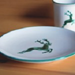 Stag Coupe Dessert Plate 7.75""